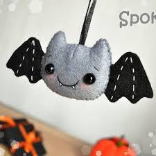 Felt Halloween decor Bat ornament Halloween toy felt ornaments Halloween  gifts Party Favor decorations Halloween cute