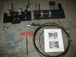 right hand drive pedal kit