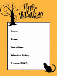 Word Halloween Templates Halloween Invitation Templates Microsoft Word Awesome Microsoft Word