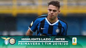 LAZIO 0-2 INTER | PRIMAVERA HIGHLIGHTS | A third consecutive win for our  Primavera! - YouTube