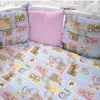 Детская постель - купить комплекты в кроватку, бортики ...