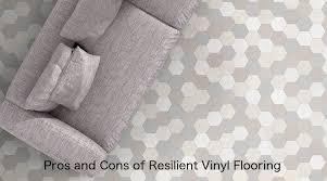 pros cons of resilient vinyl flooring luxury vinyl plank sheet vinyl