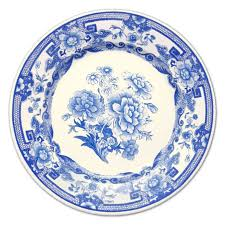 Blue And White China Pattern Custom Blue And White China Paper Dinner Plates PaperStyle