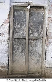 the old wooden door background csp31464410