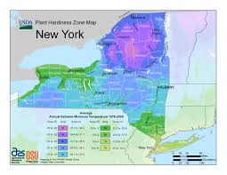 New Hardiness Zone Map For New York