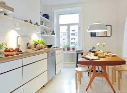 Cuisine Blanche Bois Cuisine En 0 Cuisine Cuisine Cuisine Design