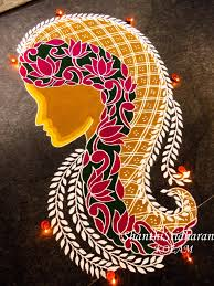 Diwali Rangoli Designs For Competition Womenday Beboldforchange Womendayimage Kolam Rangoli