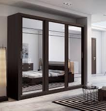 Mirror Bedroom Brand New Modern Bedroom Mirror Sliding Door Wardrobe Arti 3 In