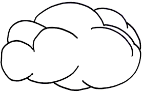 Small Picture Cloud Coloring Page 17157