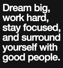Quotes About Dreaming Big And Working Hard Best of Dream Big Work Hard Stay Focused And Surround Yourself With Good