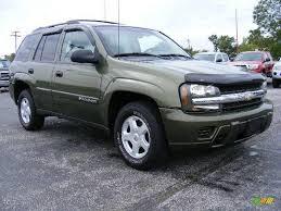 2002 Medium Sage Green Metallic Chevrolet TrailBlazer LS 4x4 ...