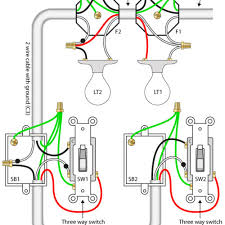 amazing how to wire three switches on one circuit electrical how to wire two separate switches & lights using the same power source diagram at Wiring Multiple Lights And Switches On One Circuit Diagram