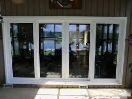 stunning four panel sliding patio doors 4 panel sliding glass patio doors ez home maintanance