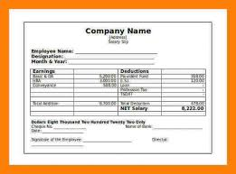 Pay Stub Samples Free Magnificent Free Download 48 Independent Contractor Pay Stub Top Template