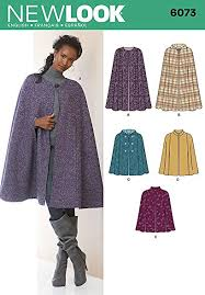 Cape Sewing Pattern Stunning Amazon New Look Sewing Pattern 48 Misses Cape SizeA Arts