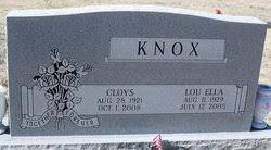 Lou Ella Pitt Knox (1929-2005) - Find A Grave Memorial
