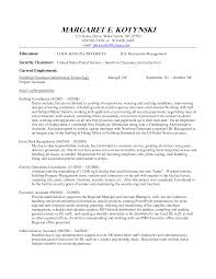 Program Coordinator Resume Objective Sidemcicek Com