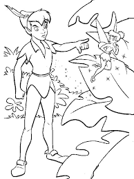 Small Picture 42 best Peter Pan Coloring Pages images on Pinterest Peter o