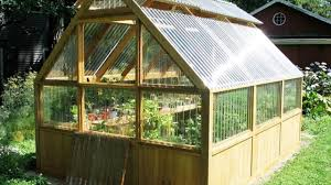 how you can build up your own greenhouse with wooden greenhouses polycarbonate foundation