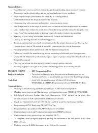Awesome Sheet Metal Design Engineer Resume Photos - Simple resume .