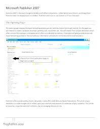 Microsoft Office Cookbook Template Publisher Recipe Photos A