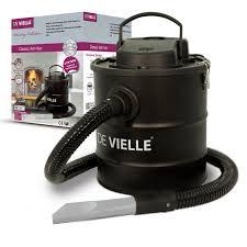 de vielle classic ash vac 2 filter system chimney cleaner black
