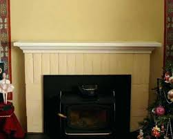 replace fireplace mantel removing mantle from brick fireplace