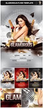 glamorous flyer template glamorous flyer template