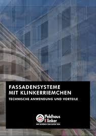 Feldhaus Klinker Fassadensysteme By Feldhaus Klinker Vertriebs Gmbh