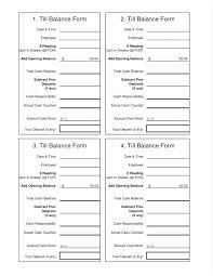Cash Register Log Template Free Classified Balance Sheet