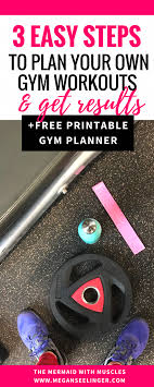 Design Your Own Workout Plan How To Make Your Own Workout Plan Printable Free Weight