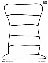dr seuss hat coloring page