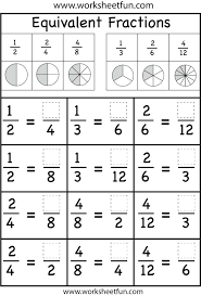 fraction review worksheet – streamclean.info