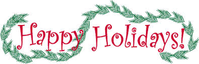 Image result for holiday break clipart