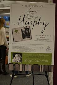 falvey memorial library villanova university photo essay  james and kathryn murphy reception poster1