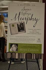 falvey memorial library villanova university photo essay james and kathryn murphy reception poster1