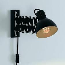 wall mounted workbench light desk led lamp work best swing arm lamps ideas on bedroom sconce