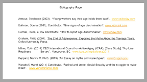 ageism who is it hurting ppt bibliography page armour stephanie 2003 young workers say their age holds them