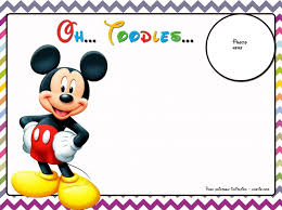 Mickey Mouse Clubhouse 2nd Birthday Invitations Personalized Mickey Mouse Clubhouse 1st Birthday Invitations