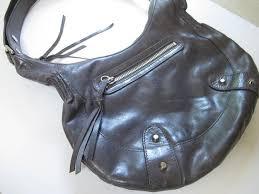 vintage banana republic leather shoulder bag gray designer cross handbags and purses 90s leather bag