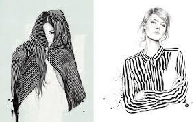 Hayden Williams Fashion Illustrations Bernadettechanel Clip Art