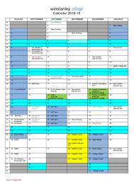 Term Dates - Winstanley College