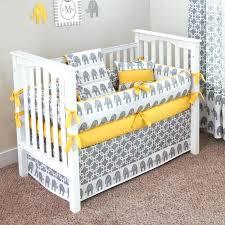 yellow gray bedding sets baby elephant designer 5 piece crib set and chevron bed nursery grey