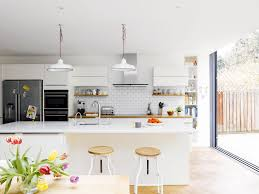 Small Kitchen Extensions Impressive Dining Room Design Ideas Wooden Table And Small Kitchen