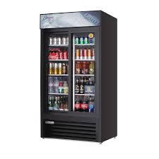 everest emgr33b reach in glass door merchandiser refrigerator