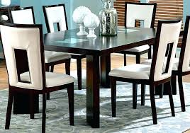 dining tables with 6 chairs glass dining room sets for round glass dining tables and