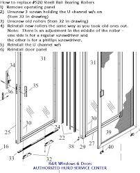 how to replace hurd sliding patio door