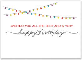 Birthday Business Cards Corporate Birthday Cards Employee Birthday Cards