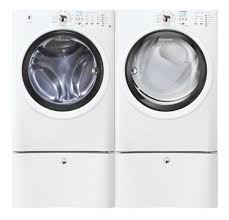 electrolux washer and dryer. Exellent Washer Amazoncom Electrolux IQ Touch White Front Load Washer And ELECTRIC Dryer  Laundry Set With Pedestals EIFLW50LIW_EIED50LIW_EPWD15IW Appliances And 5