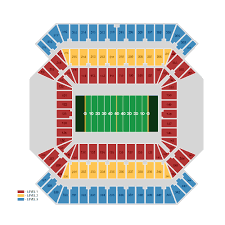 Raymond James Stadium Seating Chart Outback Bowl Raymond James Stadium Tampa Tickets Schedule Seating